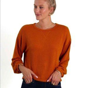 Orange Thermal Sweater